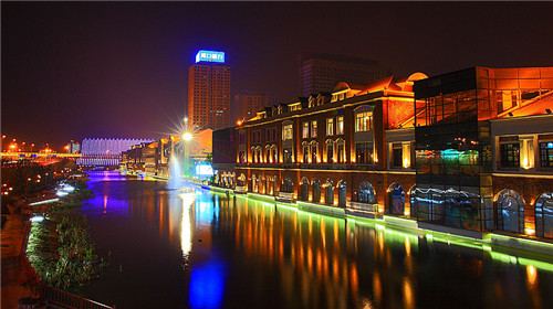 """""""楚河汉街""""风景区.jpg"""